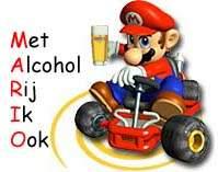 MARIO: Met Alcohol Rij Ik Ook!