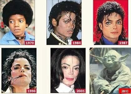 De evolutie van Michael Jackson