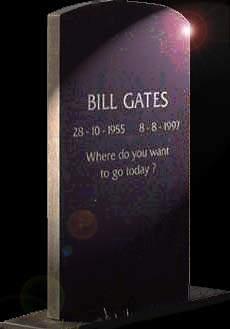 Het graf van Bill Gates